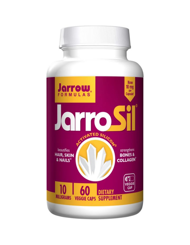 JarroSil - aktywny krzem 10 mg 60 kapsułek Jarrow Formulas