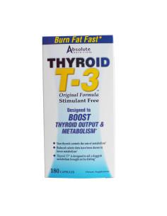 Thyroid T-3 180 kapsułek...