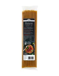 Makaron spaghetti z teff...