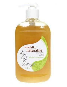 Mydło naturalne w płynie z...