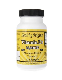 Healthy Origins Witamina D3...