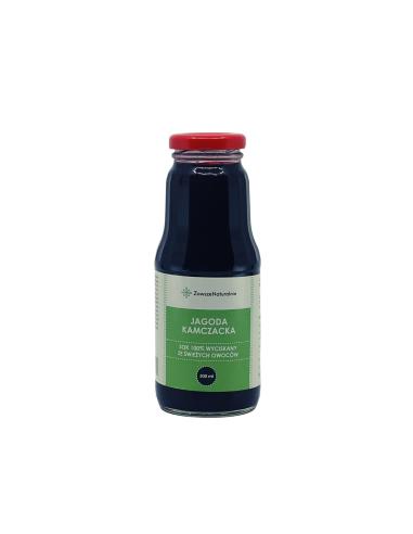 Sok z Jagody Kamczackiej 100% Tłoczony Na Zimno 300 ml ZawszeNaturalnie