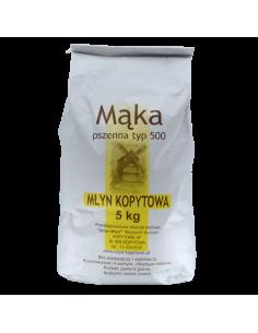 Mąka Pszenna typ 500 5kg...
