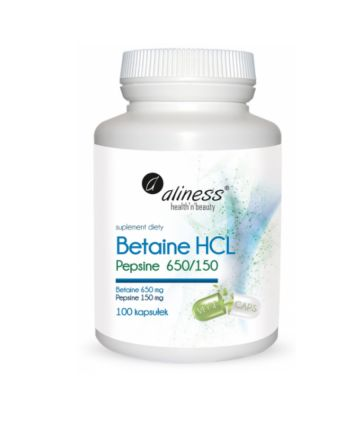 Betaine HCL Pepsyna 650/150...