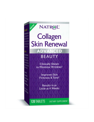 Collagen Skin Renewal - 120 tabs - Natrol