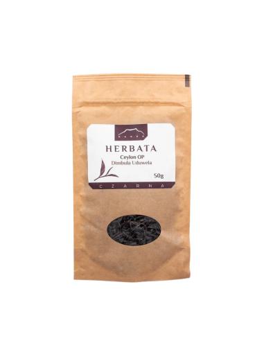 Herbata czarna Ceylon OP Dimbula Uduwela 50g NANGA