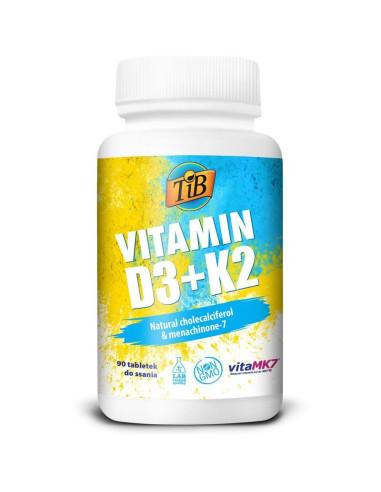 22+2 VITAMIN D3+K2 - 90tabl - TiB