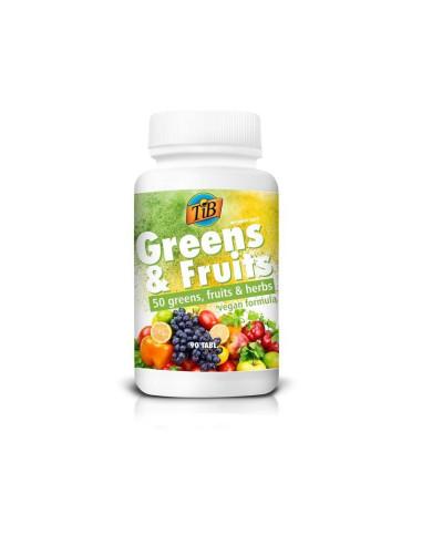 GREENS  FRUITS - 90tabl - TiB