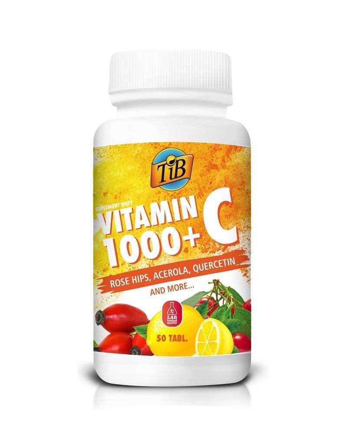 VITAMIN C 1000+ - 50tabl - TiB