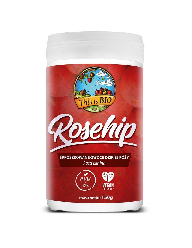 ROSEHIP (DZIKA RÓŻA) 100% ORGANIC - 150g - This is BIO