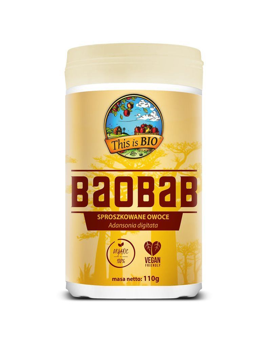 BAOBAB 100% ORGANIC - 110g - This is BIO