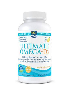 Ultimate Omega-D3, 1280mg...